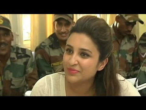 Parineeti has a nick name not many knew  at least till this army man brought it up 23 October 2014 09 PM