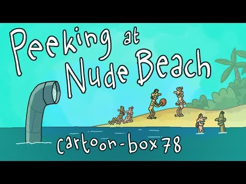 Peeking at Nude Beach | Cartoon Box 78 (видео)