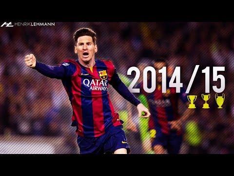 Lionel Messi ● 2014/15 ● Goals, Skills & Assists
