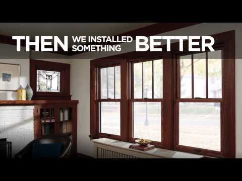 SideXSide Vinyl vs  Wood Windows HD
