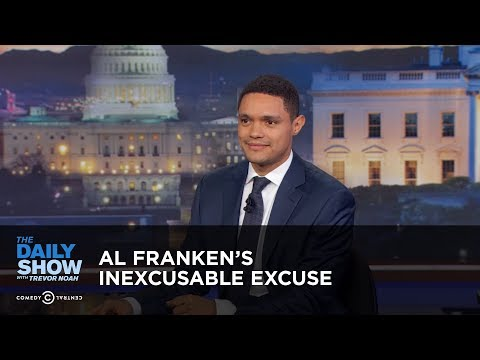 Between the Scenes - Al Franken's Inexcusable Excuse: The Daily Show