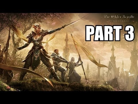 The Elder Scrolls Online Gameplay Part 3 Glitchy Quests – PC Review Playthrough