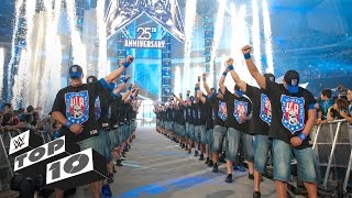 Video 20 Greatest WrestleMania Entrances: WWE Top 10 Special Edition MP3, 3GP, MP4, WEBM, AVI, FLV Juni 2019