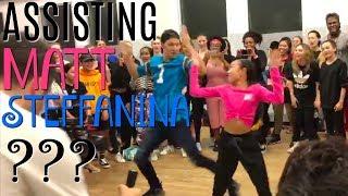 Video ASSISTING MATT STEFFANINA??? Nicole Laeno MP3, 3GP, MP4, WEBM, AVI, FLV Januari 2018