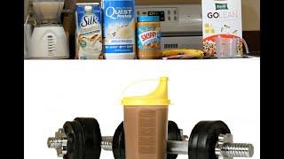 Homemade Mass Gainer Shake Recipe - 700 Calories