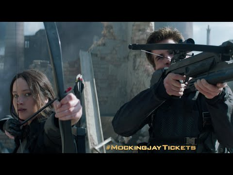 """Click - The Hunger Games: Mockingjay – Part 1 """"CHOICE,"""" presented by DORITOS®. The Hunger Games: Mockingjay Part 1, In Theaters 11/21. Tickets on sale 10/29! #TheMockingjayLives http://www.unl..."""