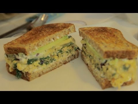 sandwich - Let's cook! Natalie shares a tasty recipe for delicious egg breakfast sandwich! Looking for a healthy and tasty holiday side dish idea? Natalie Forte (http:/...