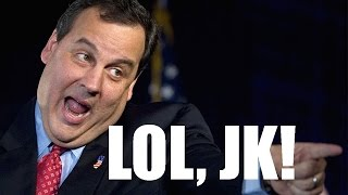 Chris Christie Caught Stealing $1 Billion From Pensions
