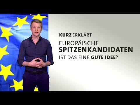 Europäische Spitzenkandidaten - Ist das eine gute Idee?