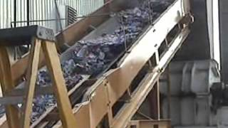 Two Stage UBC Processing - Saturn Dual Shaft Shredder into Grizzly M80