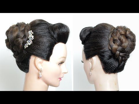 Hairstyles for long hair - Bridal Updo. Easy Wedding Hairstyle For Long Mediium Hair
