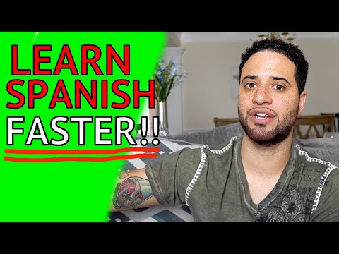 3 TIPS To LEARN SPANISH FASTER!! (Try These!!)