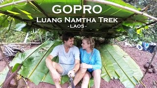 Laos Trekking in Luang Namtha. The Married Wanderers capture the lush beauty of the Nam Ha National Protected Area.
