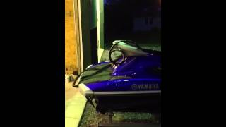 9. 2011 Yamaha VXR with 2012 trailer for sale