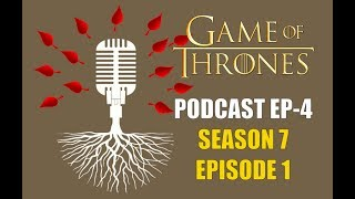 Carmine of RedTeamReview and I sit down and talk about Season Seven Episode 1 S07E01 Dragonstone and several other things on the Game of Thrones podcast.00:00 Introduction00:44 Daenerys09:18 Arya21:14 Jon and Sansa31:33 The Hound39:00 Samwell55:36 Cersei and EuronRedTeamReview's channel: https://www.youtube.com/channel/UCu2eQSOV1lNsnzkJ7CKuRNgPodcast on Soundcloud: https://soundcloud.com/redteamreviewPodcast on itunes: https://itunes.apple.com/us/podcast/i...▬▬▬▬ Follow Me on Social Media! ▬▬▬▬https://www.facebook.com/prestonjacobssweetrobin/https://twitter.com/sweetrobin9000▬▬▬▬ Check Out These Videos! ▬▬▬▬The Purple Wedding: https://www.youtube.com/watch?v=tkIczwc7Hz8A Frey in the Snow: https://www.youtube.com/watch?v=_CaDHo9BsJI&The Deeper Dorne: https://www.youtube.com/watch?v=55N8Q6OINHg▬▬▬▬ Information ▬▬▬▬Game of Thrones is an American fantasy drama television series created for HBO by David Benioff and D. B. Weiss. Based on the fantasy novel series, A Song of Ice and Fire by George R.R. Martin. A Game of Thrones is one of the most successful television series to ever made and continues to captivate audiences all over the world. The series is set on the fictional continents of Westeros and Essos, and interweaves several plot lines with a large ensemble cast. The first narrative arc follows a civil war among several noble houses for the Iron Throne of the Seven Kingdoms; the second covers the attempts to reclaim the throne by the exiled last scion of the realm's deposed ruling dynasty; the third chronicles the rising threat of the impending winter and the legendary creatures and fierce peoples of the North. Game of Thrones Episode Review. Game of Thrones Season 7. Dance of The Dragons. Stannis Baratheon and Melisandre, Shireen, Lady Stoneheart, Sansa Stark and Daenerys Targaryen, Jon Snow, Olly, Samwell, For The Watch, stream, HBO. reaction. analysis breakdown dies hodor hold the door white walkers origins children of the forest