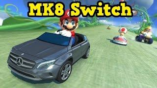 Mario Kart 8 Deluxe - Mercedes Benz Karts