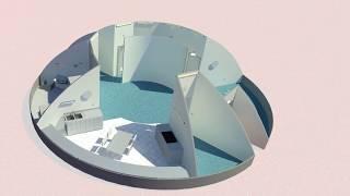 Northwestern University - Phase 3: Level 1 of NASA's 3D-Printed Habitat Challenge by Marshall Space Flight Center