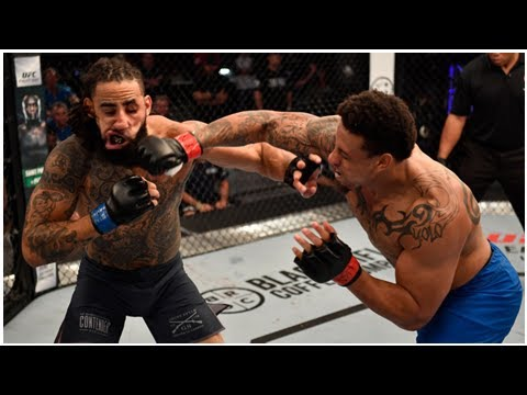 Greg Hardy scores emphatic knockout win on Dana White's Contender Series
