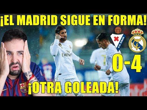 EL REAL MADRID SIGUE EN FORMA Y GOLEA AL EIBAR (0-4) ¡PARTIDO IMPECABLE! ANÁLISIS