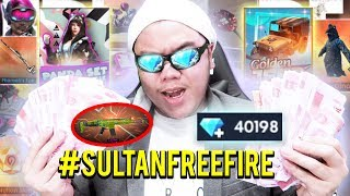 SULTAN FREE FIRE ASLI! BELI SEMUANYA TOTAL 6 JUTA + GIVEAWAY DIAMONDS! - FREE FIRE INDONESIA #6