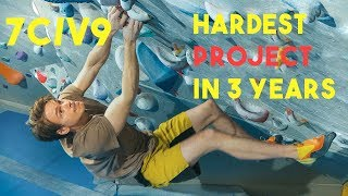 Eric VS The Hardest Project In 3 Years - 7C/V9 - Bouldering Session by Eric Karlsson Bouldering