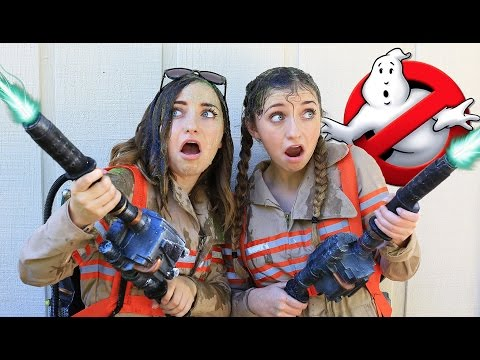 Slime Bucket Challenge (?? Ghostbusters Inspired) | Funny Videos | Brooklyn and Bailey_Legjobb vide�k: Vicces