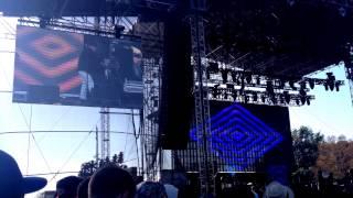 Neon Indian - SONGS - Slumlord - FYF FEST LA Memorial / Exposition PARK Los Angeles 8/23/2015