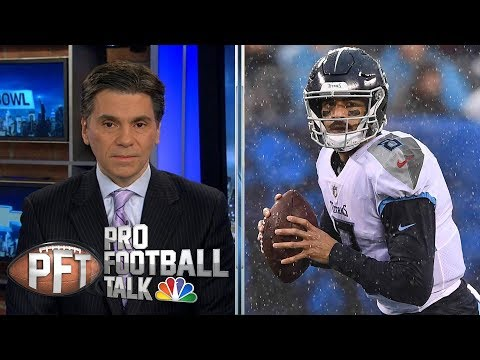 Video: Will Marcus Mariota play in crucial SNF tilt v. Colts? | Pro Football Talk | NBC Sports