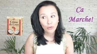 Eclaircir ses Cheveux-Lait de Coco ou Creme - YouTube