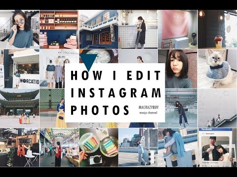 [LIFE] 我用什麼濾鏡編輯照片♥How I Edit My Instagram Photos