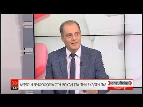 Ο πρόεδρος της «Ελληνικής Λύσης» Κυριάκος Βελόπουλος στην ΕΡΤ   21/01/2020   ΕΡΤ
