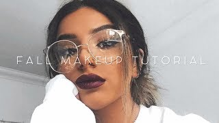 The PERFECT FALL GLAM MAKEUP TUTORIAL (so easy!)