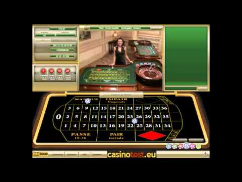Live Dealer French Roulette Video