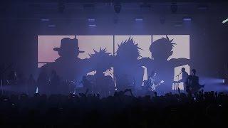 Gorillaz Strobelite Live at Printworks London