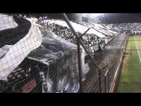 Video - Gran recibimiento Olimpia vs Gra. Diaz apertura 15 - La Barra del Olimpia - Olimpia - Paraguay - América del Sur