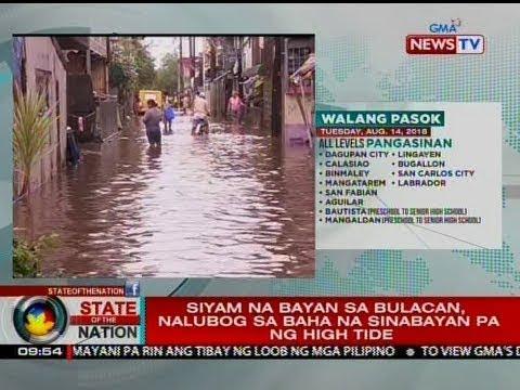 SONA: Marilao, Calumpit, Paombong, Hagonoy at Meycauayan sa Bulacan, nasa state of calamity_Űrhajó videók