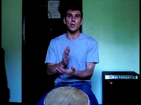 Djembe Lesson: Solo Rudiment : Basic Rolls