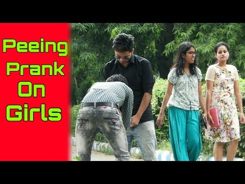 Video PEEING PRANK ON HOT GIRLS (epic reaction) | PRANK IN INDIA | FUNDAY PRANKS download in MP3, 3GP, MP4, WEBM, AVI, FLV January 2017