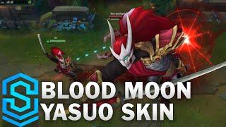Chi tiết bộ trang phục Yasuo Huyết Nguyệt (Blood Moon Yasuo)