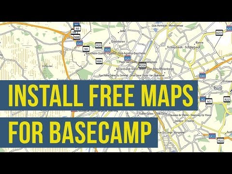 How To Install Free Maps on Garmin BaseCamp (OSM Openstreetmap)