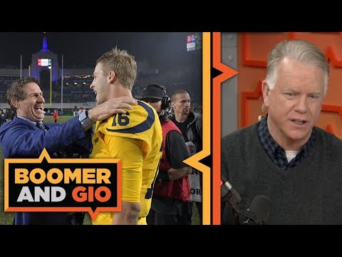 Video: Chiefs and Rams SCORE 105 combined | Boomer and Gio