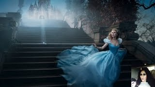 CINDERELLA Full 2015 MOVIE Starring  Lily James Young Ella&Richard Madden Prince Charming  Review