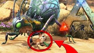 Ark: Scorched Earth - PLAY AS JERBOA, DEATHWORM, BABY WYVERN (Scorched Earth Modded Gameplay)