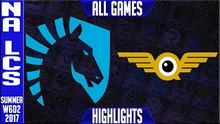 TL vs FLY Highlights ALL GAMES - NA LCS Week 6 Summer 2017 - Team Liquid vs FlyQuestNALCS teams: Dignitas, Fly Quest, TSM, EnVyUs, Phoenix 1, CLG, Liquid, Echo Fox, Immortals, Cloud9NA LCS Spring 2017 playlist: https://www.youtube.com/watch?v=6Nat_jBUPyE&list=PLJwuLHutaYuLhpm8EMj2AyWxhS4xEFKn4☻All games spoiler free with stats and infographs at Stage: https://stage.gg/► All other previous tournaments: http://bit.ly/1WBqwLzKazaLoLLCShighlights -  bringing you fast highlights of LCS, LCK, LPL and LMS League of Legends Esports Matches every day♡♡♡♡♡♡♡♡♡♡♡♡♡♡♡♡♡♡♡♡♡♡♡♡♡♡♡♡♡♡✉ Social media below - Follow for regular updatesⓕⓑ  KazaGamez  ►http://on.fb.me/1N5j0EHⓖ+                            ►http://bit.ly/1Bpjrbaⓣⓦⓘⓣⓣⓔⓡ      ►Twitter      -  http://bit.ly/1BkVAtGⓣⓦⓘⓣⓒⓗ          ►Livestream: http://bit.ly/1BpjzYdⓓⓞⓝⓐⓣⓔ          ►Paypal: http://bit.ly/1cBU6JnSubscribe: http://bit.ly/1oZa2wJ