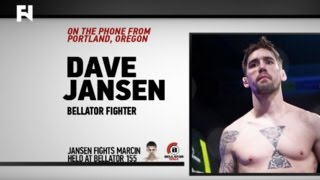 Bellator 155: Dave The Fugitive Jansen on Nickname, Post-MMA Career, Marcin Held & More by Fight Network