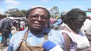 Mweiga Kenya  city photos gallery : Mwiga Market traders protest the deplorable conditions of the market
