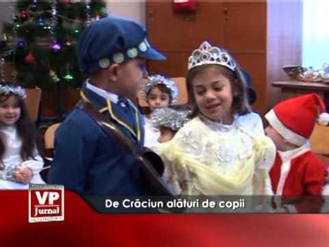 De Crăciun alături de copii