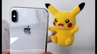 Pikachu Unlocking Face ID on iPhone X by Unlisted Leaf