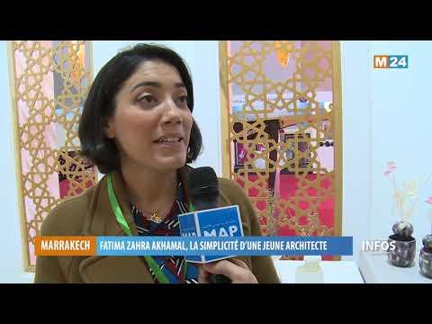 Fatima Zahra Akhamal, ou la rayonnante simplicité d'une jeune architecte pétrie de talent