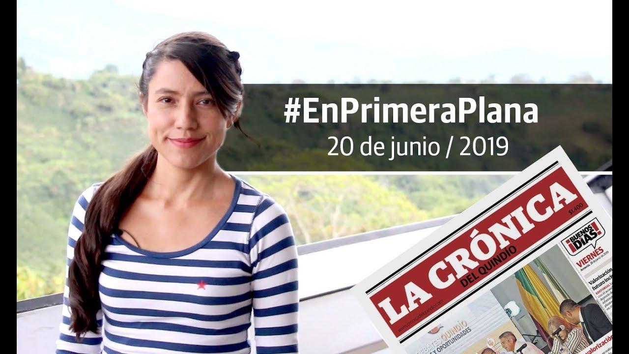 En Primera Plana: lo que será noticia este viernes 21 de junio